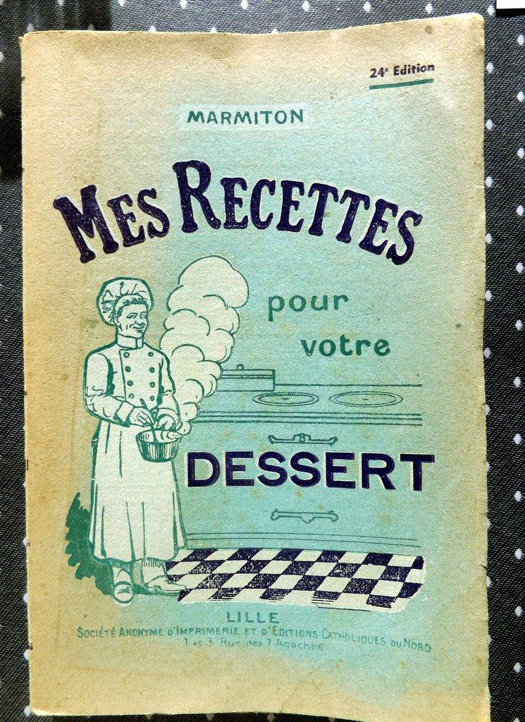 MARMITON  \u201cMes recettes pour votre dessert\u201d. \u2013 Le Festin de